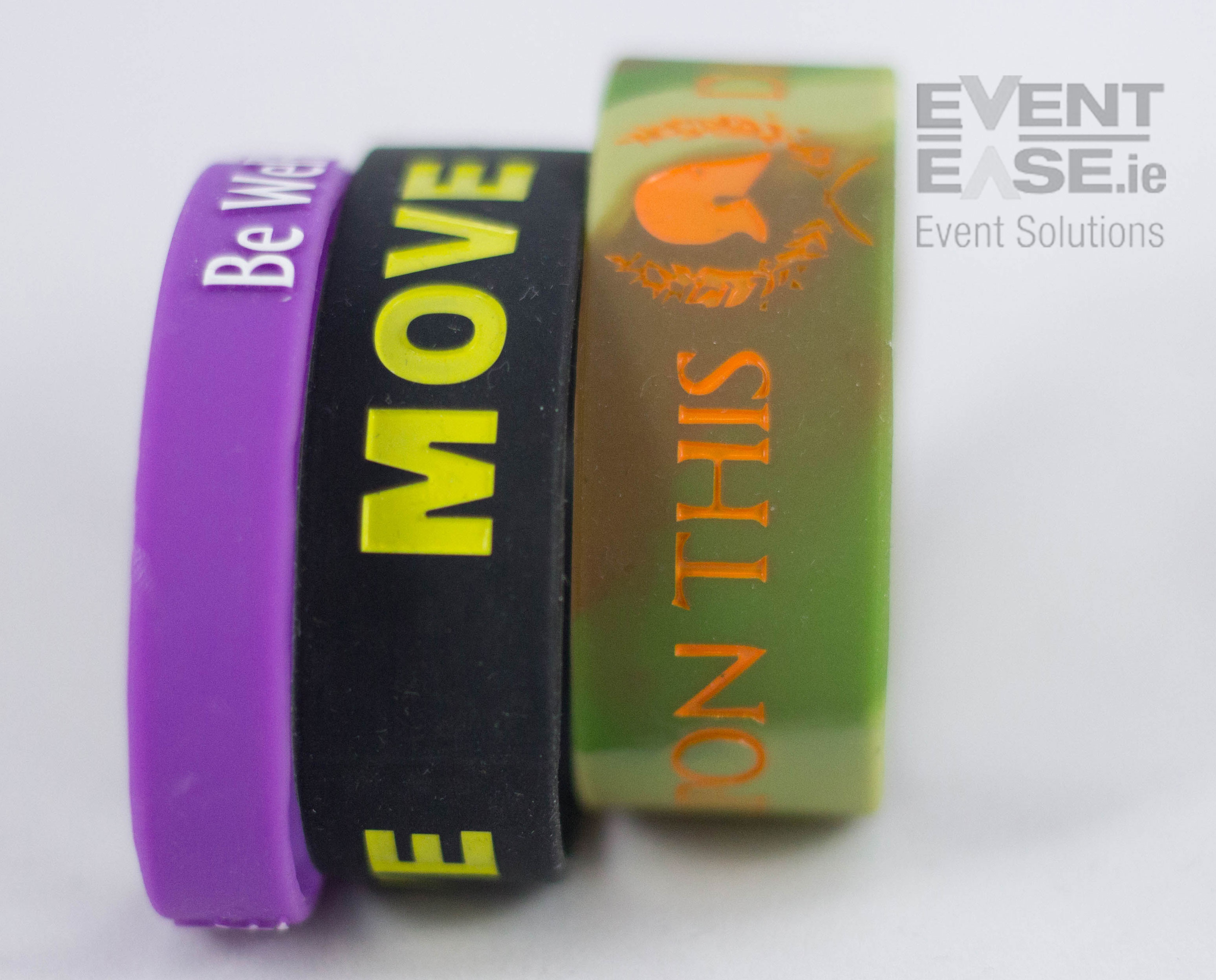Silicone Wristband Various sizes
