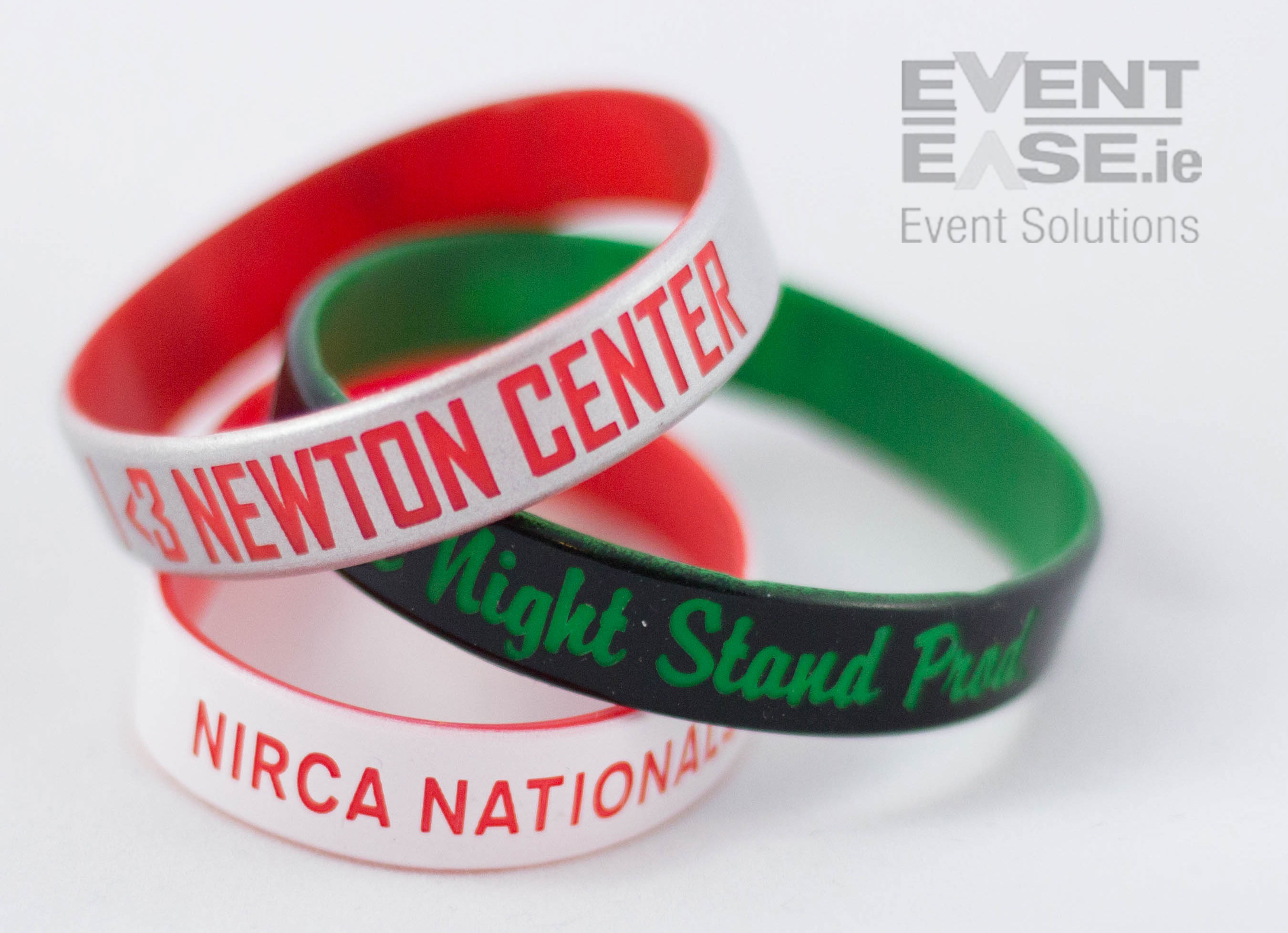Silicone Wristbands Laser Engraved