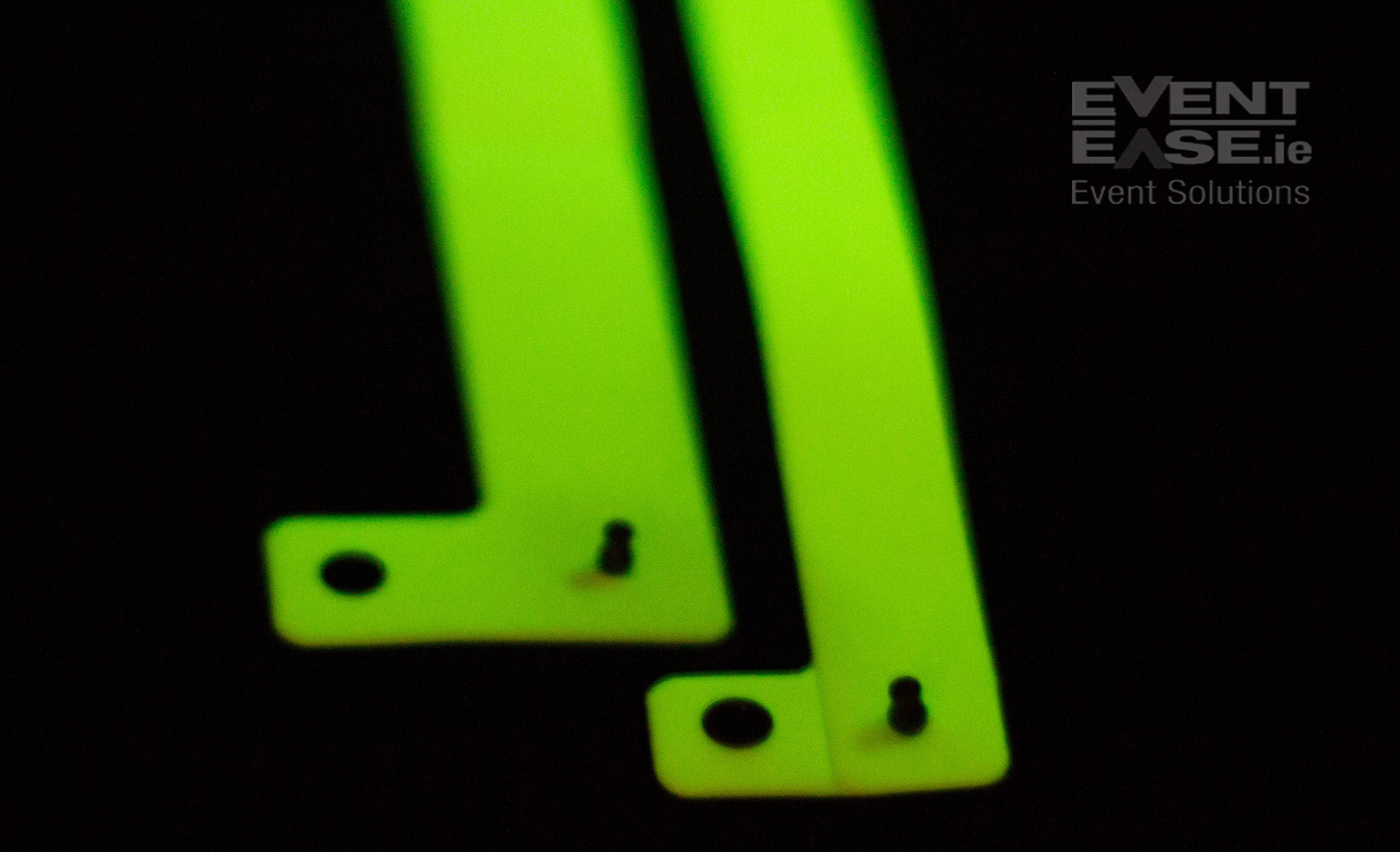 Vinyl Wristband glow in the dark